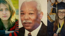 (Left to right) Hannah Eimers, Wilbert Byrd and Lauren Beuttel