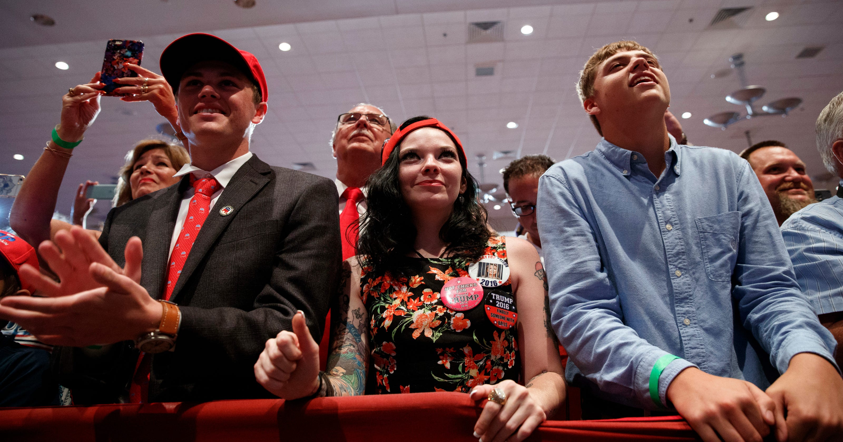 Young voters flee Donald Trump in what may be historic trouncing, poll shows