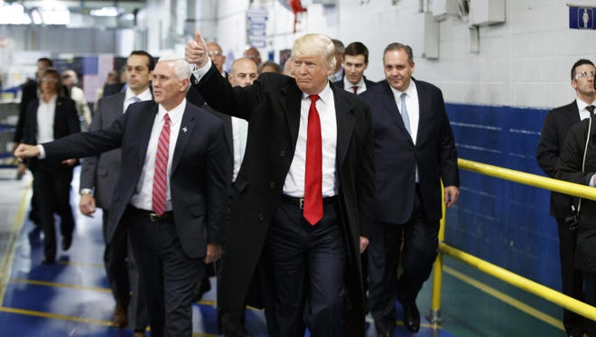 Indiana has not yet finalized the deal President Trump and Vice President Mike Pence reached in December to keep Carrier Corp. in Indianapolis.