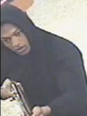 Suspect one in the three armed robberies on Thursday, Feb. 4, 2016.