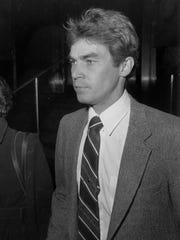 Michael Nitz, shown here in November 1983, pleaded guilty to manslaughter in 1983 for the beating death of 27-year-old Chin in Detroit. Nitz did not serve time in prison, but was sentenced to three years of probation.