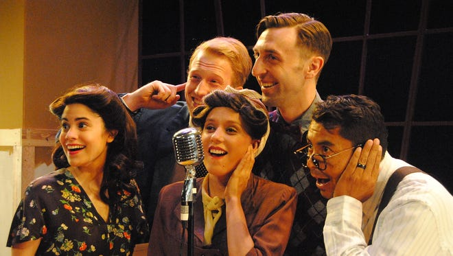 """""""It's A Wonderful Life: A Radio Play"""" opens at the ASNMSU Center for the Arts on the New Mexico State University campus on Friday, Nov. 17."""