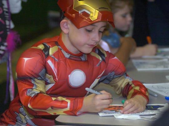 Garrett Villemure is Iron Man.