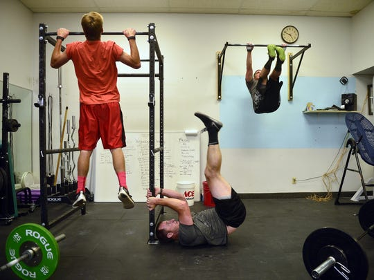 The Great Falls police officers go through their high-intensity workout.