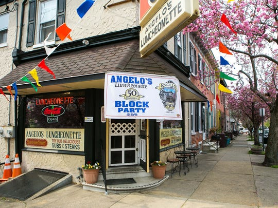 Angelo's Luncheonette in Wilmington's Forty Acres is celebrating its 50th birthday with a big party on Saturday for its customers.