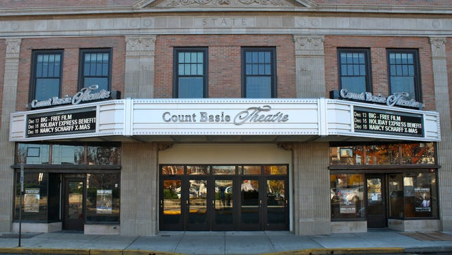 The Count Basie Theatre in Red Bank.