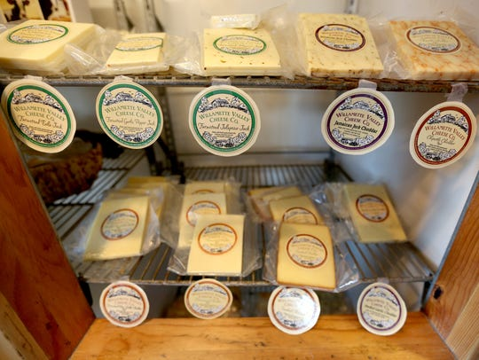 Willamette Valley Cheese produces over 35 varieties