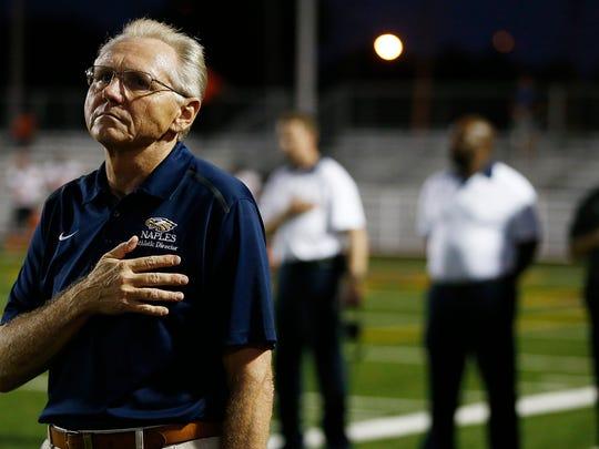 Naples High School athletic director Ernie Modugno