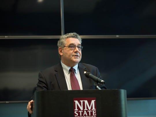 John Floros, New Mexico State University president-designate,