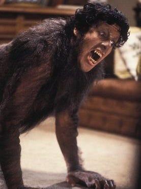 "David Naughton in the 1981 film ""An American Werewolf in London."""