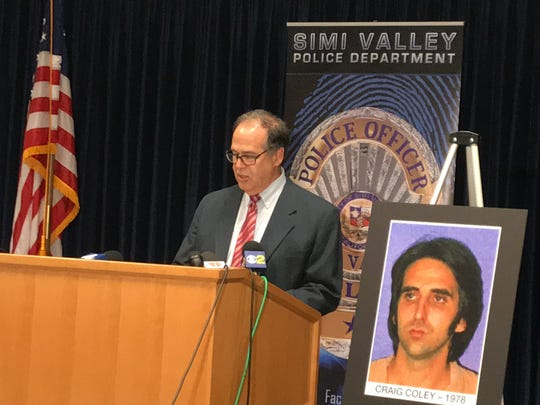 Special Assistant District Attorney Michael Schwartz speaks at a Simi Valley press conference in November.