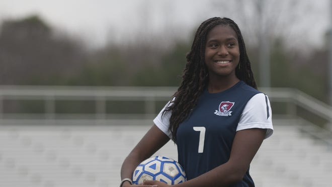 Eastern's Amirah Ali is the Courier-Post girls' soccer Player of the Year.
