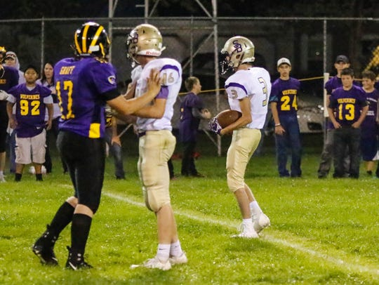 Sully Buttes running back Landon Severson makes his