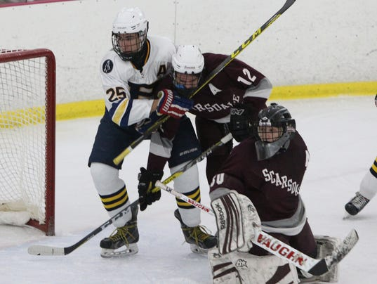 Pelham vs. Scarsdale ice hockey