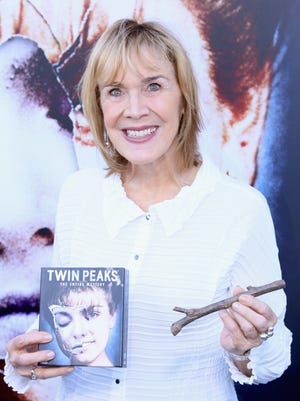 """Catherine Coulson died today at age 71. Coulson is best known for her role as the """"Log Lady"""" in the David Lynch series """"Twin Peaks."""""""