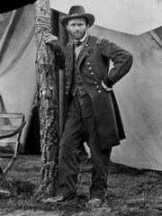 Gen. Ulysses S. Grant at his Cold Harbor, Va., headquarters
