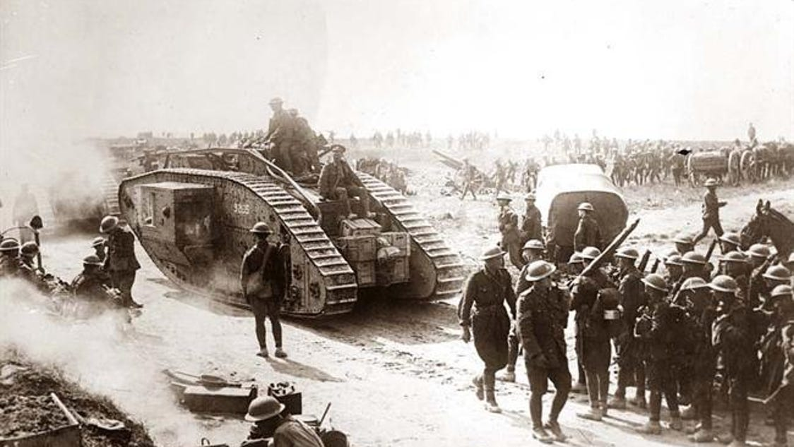 New weapon systems of world war i essay