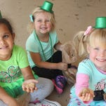 Pot 'O Gold scramble: Y youngsters enjoy special St. Pat's celebration