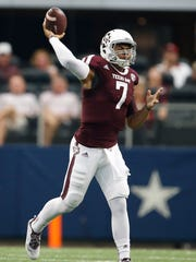 Former Texas A&M quarterback Kenny Hill joins the Big