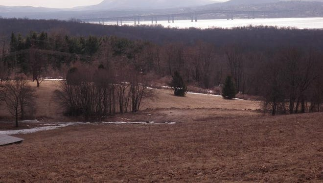 The Beacon/Newburgh Bridge can be seen from Carnwath Farms in the Town of Wappinger.