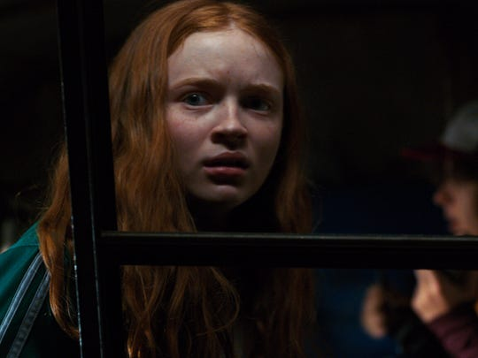 New girl in town Max (Sadie Sink) is dubious of the