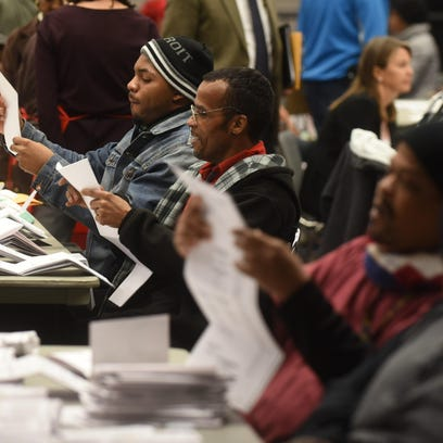 Records: Too many votes in 37% of Detroit's precincts