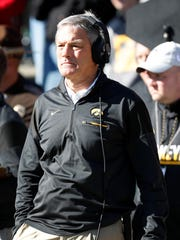 Iowa head coach Kirk Ferentz has dominated Penn State over the years with opportunistic, strangle-hold defense. None of his current Hawkeyes, though, have ever played in Beaver Stadium.