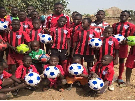 xliv Rotary Nigeria soccer