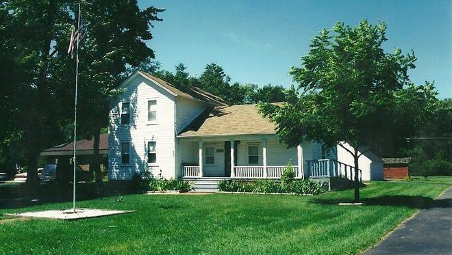 The Felton farmhouse at the Westland Historic Village Park.