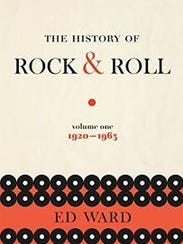 "The book jacket to ""The History of Rock & Roll"""