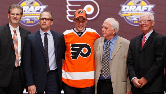 Flyers first-round pick German Rubtsov, center, will be on Team Russia as the tournament starts Monday.