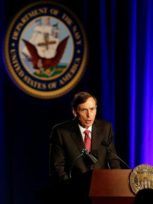 Retired general and former CIA director David Petraeus.