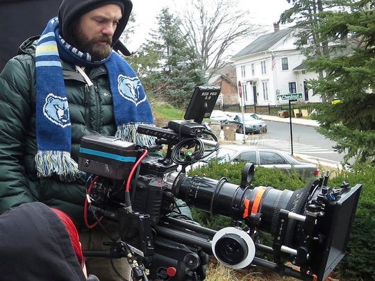 """Represent! Ryan Earl Parker (and his Grizz scarf) on the Vermont set of """"Sweet, Sweet Lonely Girl."""""""