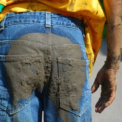 Nordstrom is selling $425 jeans covered in fake mud, Mike Rowe calls them out