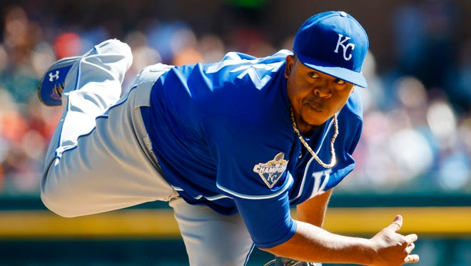 Volquez has an 89-79 record in 12 seasons.