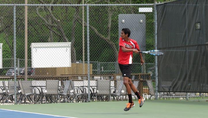 Kodali, Basche, and Schlicht become Pewaukee's first ever state tennis qualifiers
