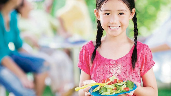 Yes, you can get your kids to eat salad.