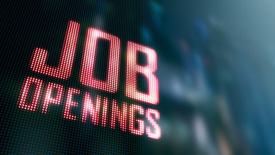 Here are more than 80 employers that are advertising for open positions this month.