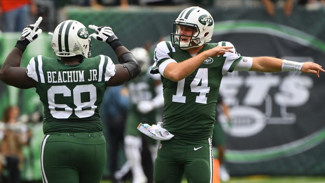 Sunday's win over the Broncos was a good day for Kelvin Beachum, Sam Darnold and the Jets. But can they build on it?