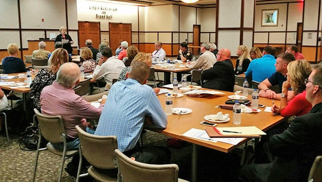 The growing Heroin is Here group meets regularly at Reid Health.