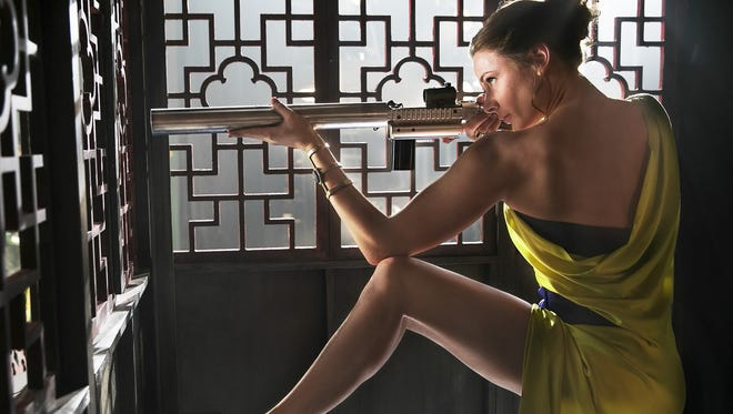 Rebecca Ferguson plays agent Ilsa Faust in 'Mission: Impossible — Rogue Nation.'