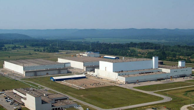 The American Centrifuge Plant in Piketon.