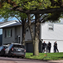Police investigating a disorderly conduct report at a home on Bragstad Drive on Monday.
