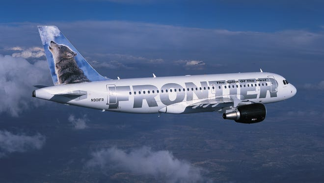 Frontier Airlines is raising its baggage fees on May 1.