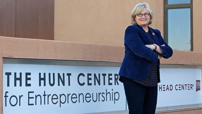 Kathryn Hansen, director and chief executive officer of New Mexico State University's Arrowhead Center.