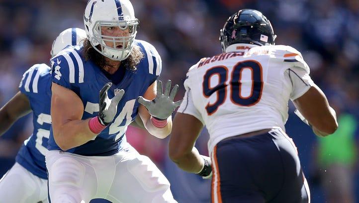 Colts need consistency from veteran Castonzo