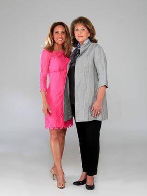 Dana Robinson and mother, Sally. May 6, 2015