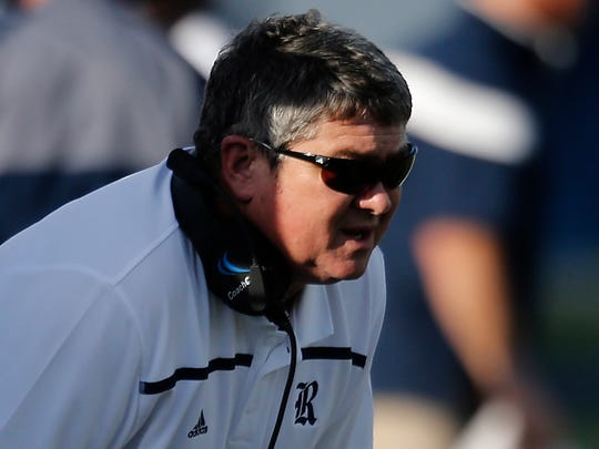 Rice coach David Bailiff, shown here in a game last