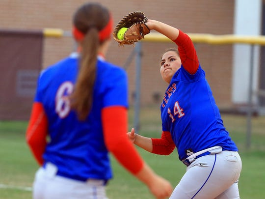 Gregory-Portland's Dayna Mireles is part of what could be a potent offense for the Ladycats this season.