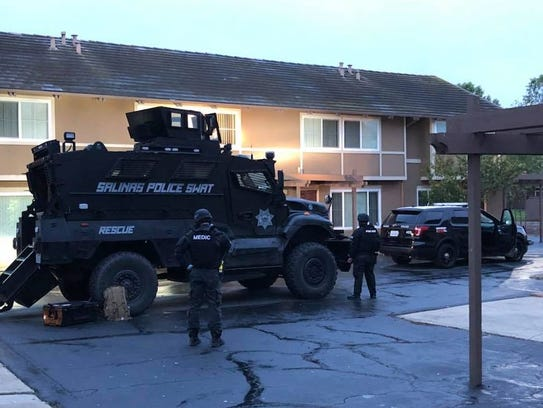 Salinas police Monday arrested three people suspected